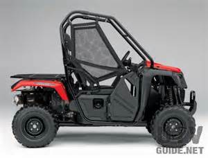 Pioneer Honda The New 2015 Honda Pioneer 500 Side By Side Utv Guide
