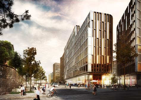 Architectural Renderings gallery of schmidt hammer lassen wins competition to