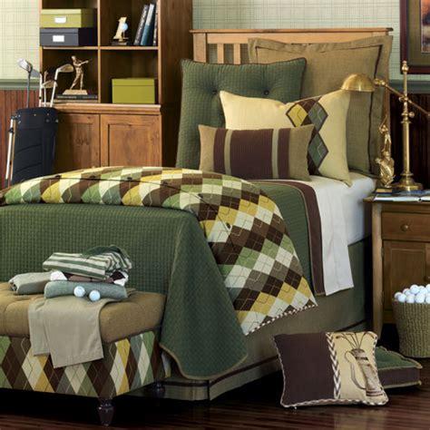 golf bedding designed to the nines argyle addiction