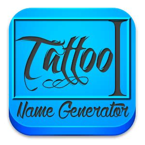 tattoo name design amp generator android apps on google play