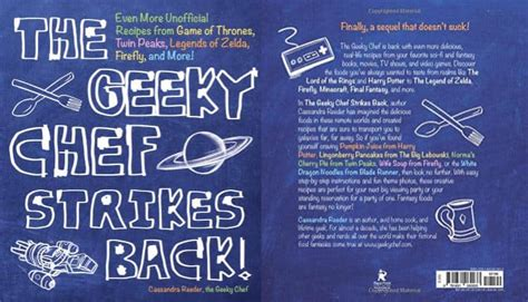 libro the geeky chef cookbook the geeky chef strikes back cookbook