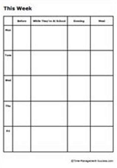 printable weekly planner monday thru friday 9 best images of monday through friday planner printable