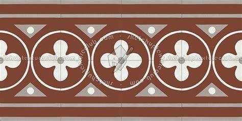 Border tiles victorian cement floor texture seamless 13869