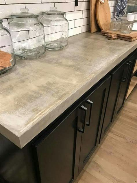 concrete countertops kitchen best 25 concrete countertops ideas on cement