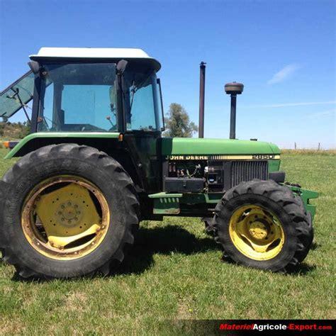 vendu deere 2850 tracteur agricole d occasion