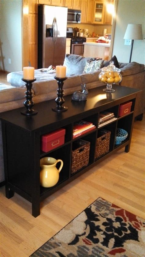 decorating ideas for sofa tables 25 best ideas about table behind couch on pinterest