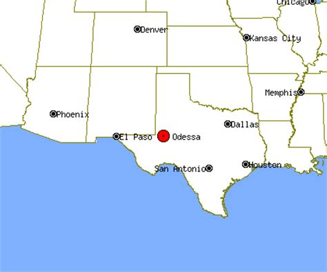 where is odessa texas on the map opiniones de odessa texas