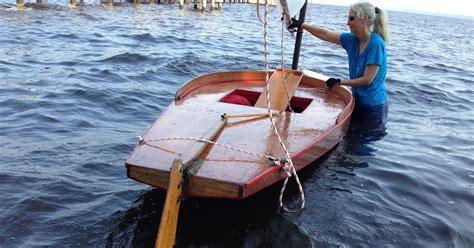 small boat restoration sunfish rudder conversion - Small Boat Rudder