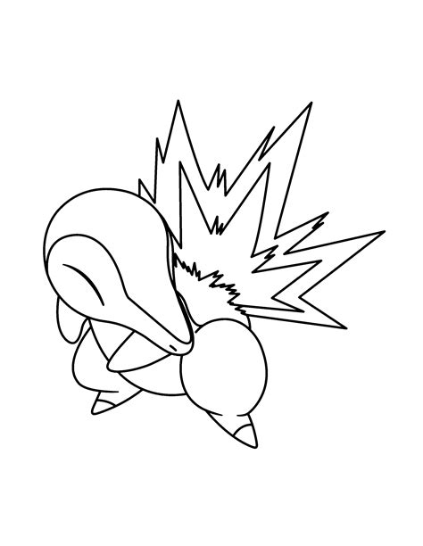 pokemon coloring pages cyndaquil coloring page tv series coloring page pokemon advanced