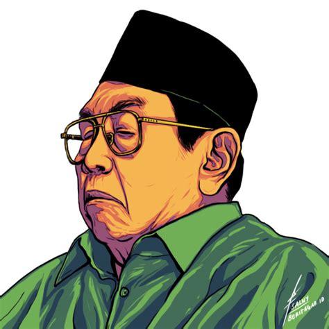 Gus Dur Dalam Obrolan Gus Mus By Kh Husein Muhammad sketsa nilai dan pemikiran gus dur