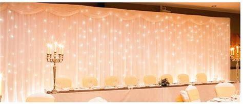 Hot sale 3x6m silk Swag Fabric Wedding Party christmas
