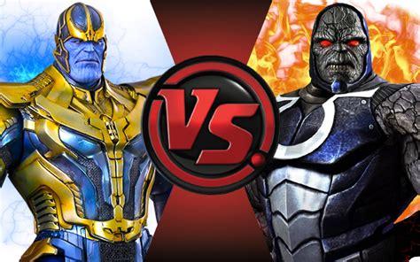 darkseid infinity gauntlet thanos vs darkseid fight club episode 54