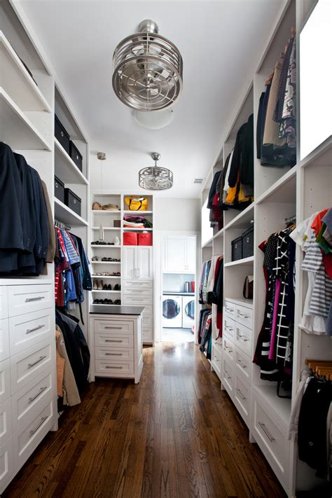 Hanging Laundry Hers His And Hers Closet Ideas Closet Traditional With Hanging Rack Windows Earth Tones