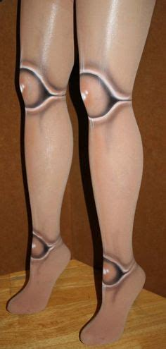 jointed doll tights tutorial on creepy