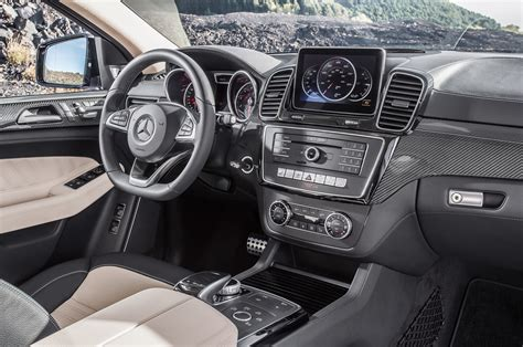 mercedes jeep 2016 interior 2016 mercedes benz gle coupe first look motor trend