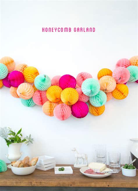 Honeycomb Garland honeycomb garland diy oh happy day bloglovin