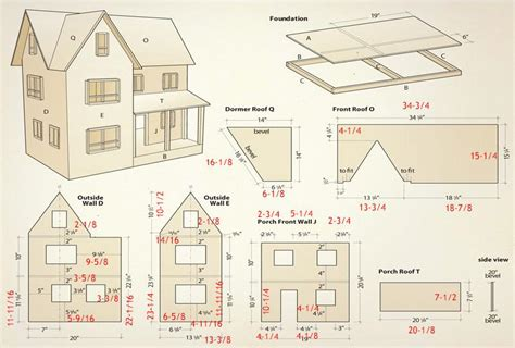 doll house floor plans 18 doll house plans