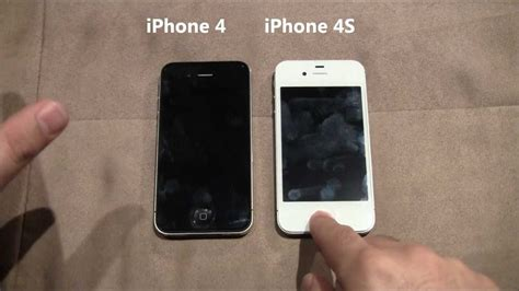A Iphone 4 Iphone 4 Vs Iphone 4s The Differences Exposed