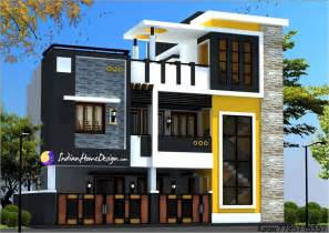 architect designed house plans modern contemporary style two floor chennai home design by