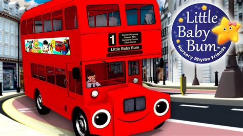 bysabys bys a bys wheels on the bus part 6 nursery rhymes by