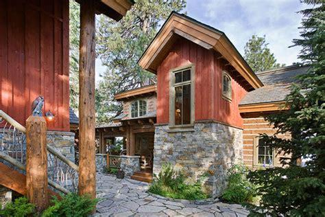 barn owl rustic house plans log home designs