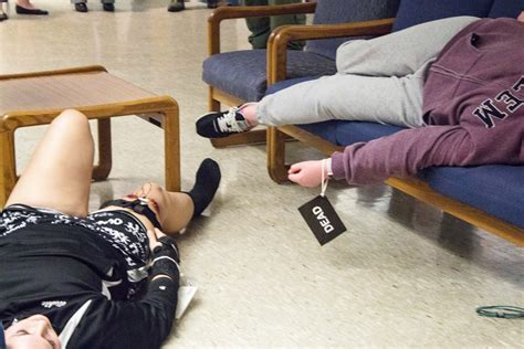Play Dead by Students Play Dead During An Active Shooter At