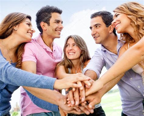 with friends friends together stock photo 169 andresr 9162589