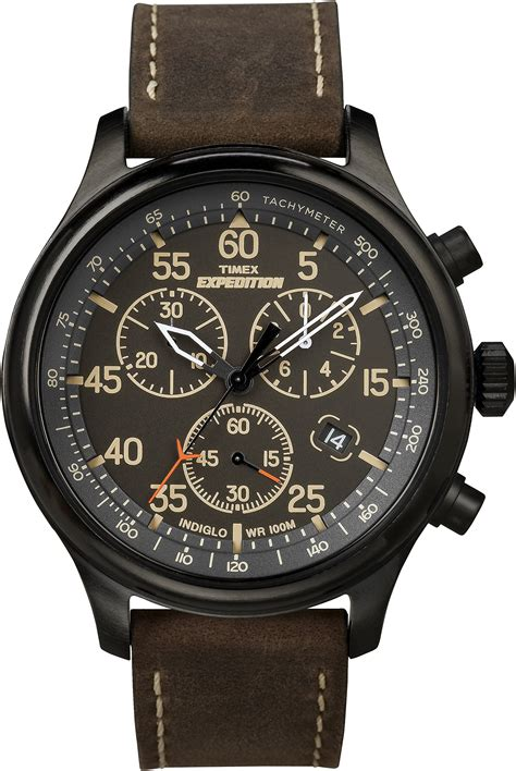 Black Hawk Chrono Light Brown Black galleon timex s t49905 expedition rugged field chronograph black brown leather