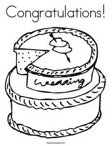 Congratulations Coloring Page  Twisty Noodle sketch template
