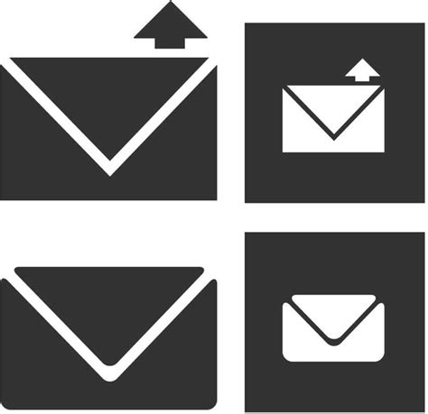 email icon vector email icons free vector in adobe illustrator ai ai