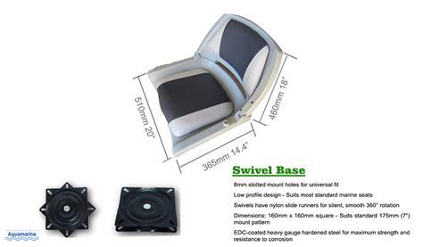 fishing boat swivel seats fold down boat seat with swivel for fishing