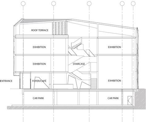 museum floor plan dwg objekti kulture sogn fjordane kunstmuseum by c f