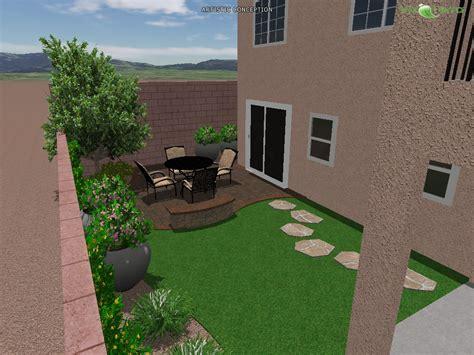 las vegas backyard 3d landscape designs las vegas landscaping