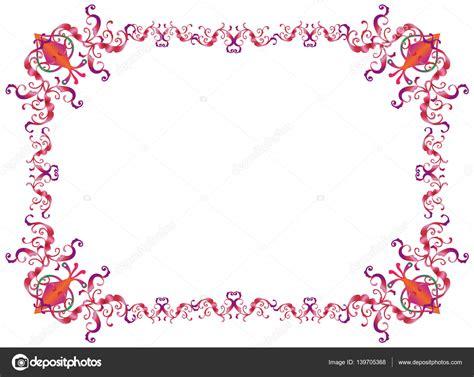 cornici per inviti cornice decorativa orientale ornamento per purim festival