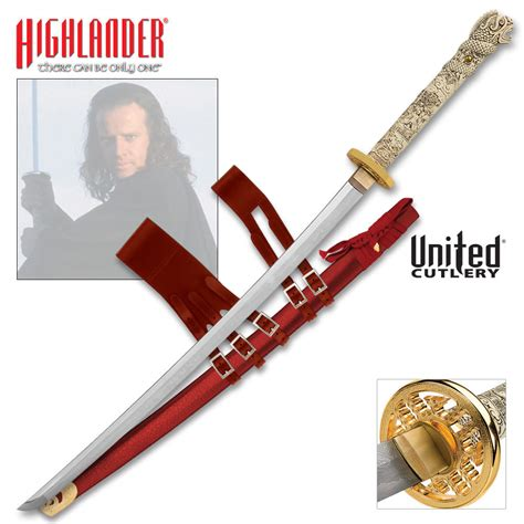 highlander connor macleod forged katana sword budk
