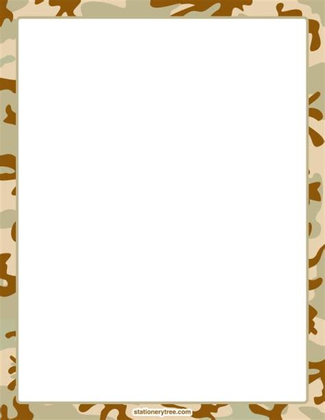 free printable army stationery paper 17 best images about bordes leaves n fall on pinterest
