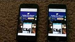 Apple iPhone 5S vs iPhone 5 Speed Comparison