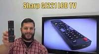 SHARP GJ221 Remote Control PN: 9JY640147040000R - www.ReplacementRemotes.com
