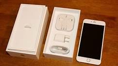 Apple iPhone 6s Plus unboxing