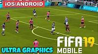 FIFA 19 MOBILE - iOS GAMEPLAY ( ULTRA GRAPHICS )