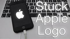 Fix iPhone Stuck on Apple Logo - Solution for iPhone 6 6S SE 5 5C 5S 4 4S iPad and iPod Touch