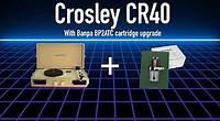 2013 Crosley CR40 Mini Portable Record Player