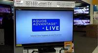 "Sharp Aquos tv 70"" LED 3D smart tv 2015"
