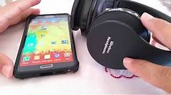 How to connect Wireless Headphones to Android Phone (Samsung)
