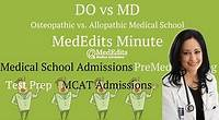 DO vs MD: Which is Better and The Biggest Differences | MedEdits