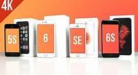 iPhone SE vs iPhone 6s, 6, 5s - porównanie / speed test PL [4K]