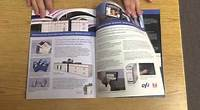 Sharp MX-6500 MX-7500 Polaris Pro Saddle Stitch Booklet Example
