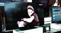 Preview of the Sharp Aquos TV range for 2012 - Big Brown Box