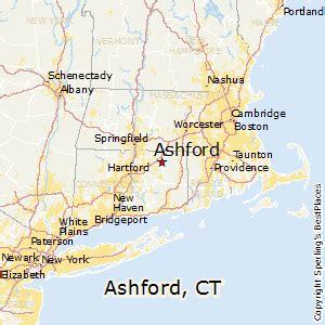 Ashford Connecticut Map