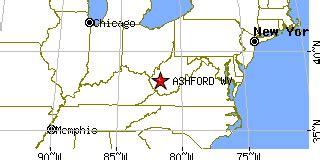Ashford VA Map